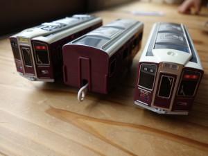 阪急電車9000系 車両を取り出してみた