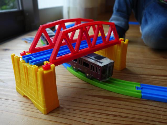プラレール J-03 小さな鉄橋 サンプル
