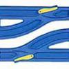 r-13 単線・複線ポイントレール
