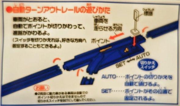 R-19 自動ターンアウトレール