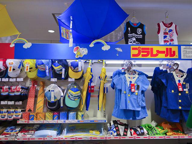 プラレールショップ大阪の服
