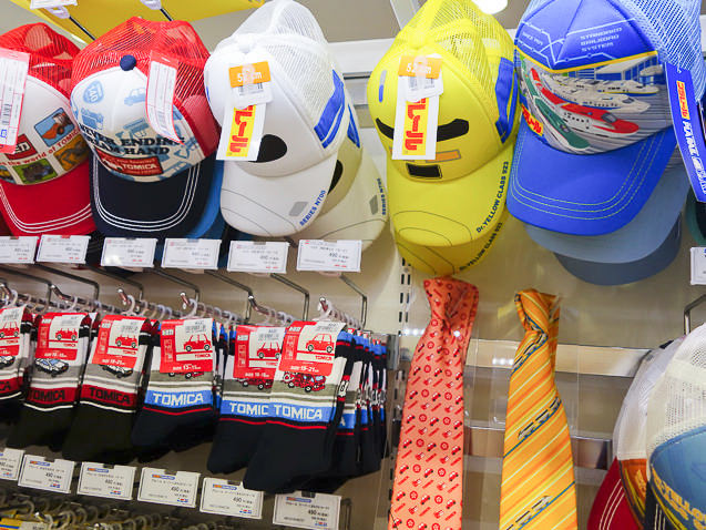 プラレールショップ大阪 プラレールの帽子