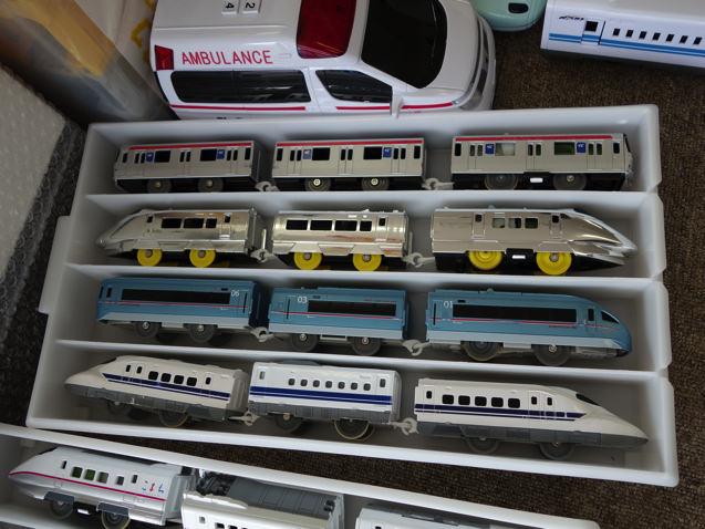 トイトイパークにあるプラレール電車