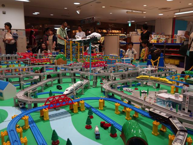 阪急三番街 プラレールフェスティバル