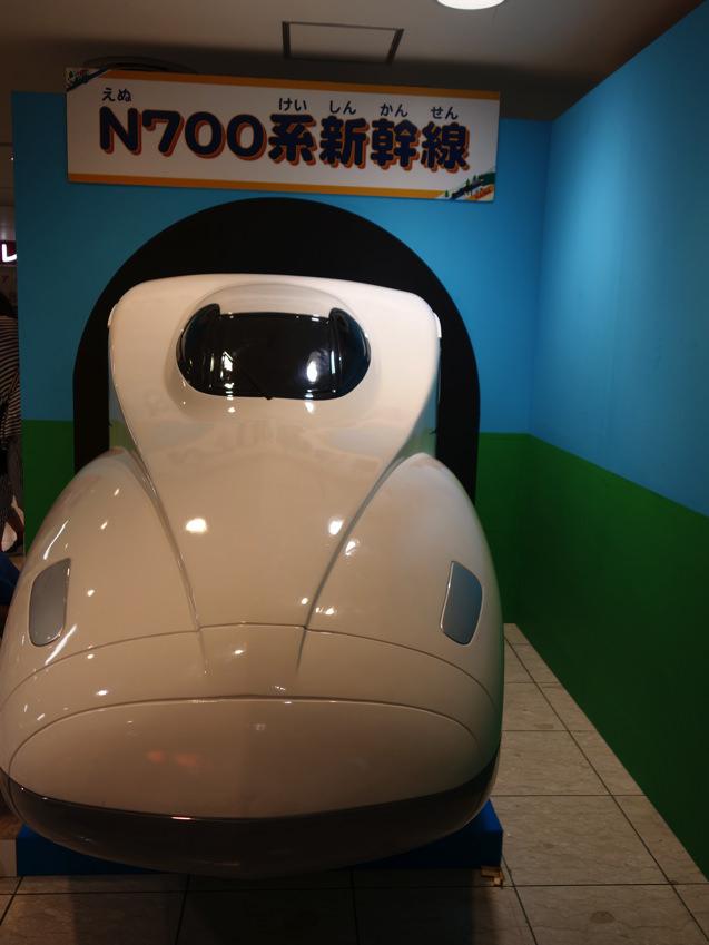 阪急三番街 プラレールフェスティバル N700系新幹線