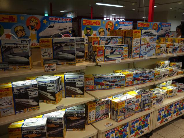 阪急三番街 プラレールフェスティバル 売り場
