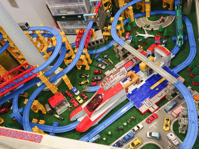 東京駅一番街 プラレールショップ レイアウト