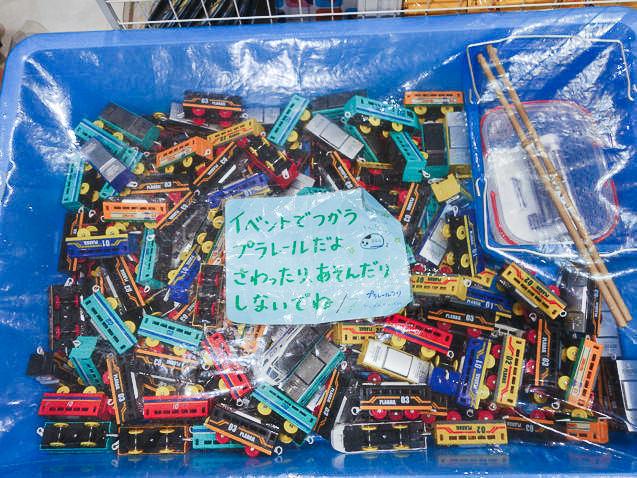 東京駅一番街 プラレールつり