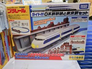 東京駅一番街 プラレールショップ 0系新幹線と東京駅セット