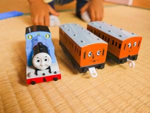 トーマスと車両