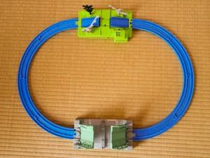 はね橋と緑の踏切が楽しい簡単プラレールレイアウト