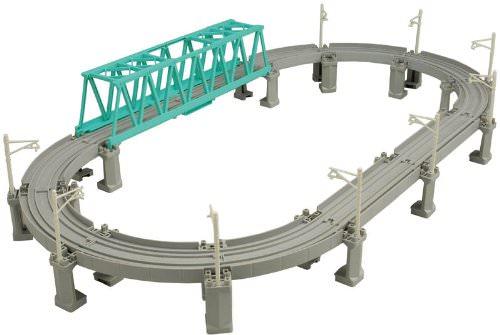 高架レールと大鉄橋セット