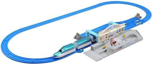 連結!E5系「はやぶさ」&トミカ駅前ロータリーセット