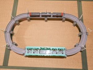 プラレールの高架レールと大鉄橋セットを再現してみた