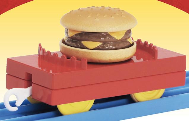 プラレール ハンバーガー貨車