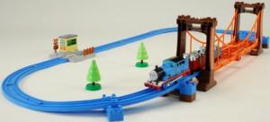 トーマス ぐらぐらつり橋セット