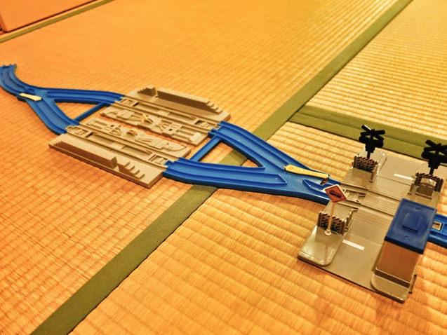 阪急夙川駅〜苦楽園口駅をプラレールで再現してみた