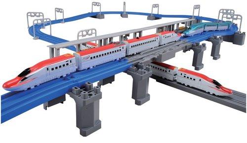 E6系新幹線 連結&立体交差レールセット
